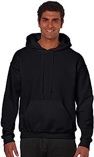 Gildan Men's Fleece Hooded Sweatshirt, Style G18500, Black, L
