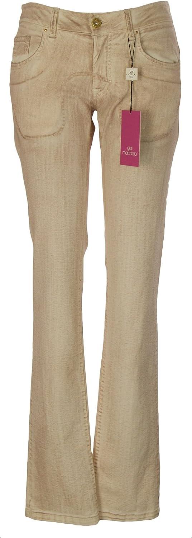 GAI MATTIOLO Women's Bootcut 3 Pocket Jeans Sz 42 Rust