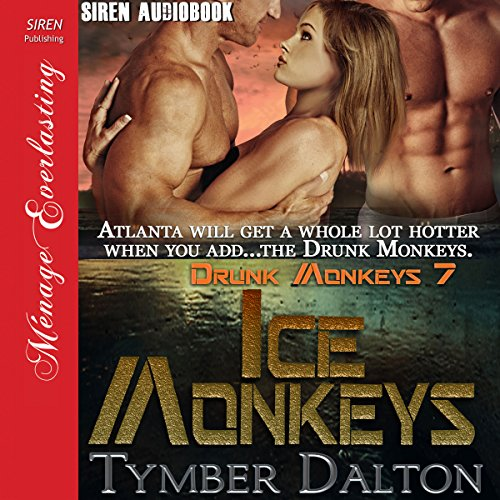 Ice Monkeys audiobook cover art