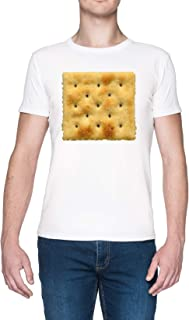 Blanco Saltine Soda Galleta Blanca Mujer Camiseta White Men's T-Shirt tee