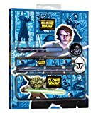 Star Wars Clone Wars 4013161 - Set de escritorio (estuche, lápiz, rotulador, goma de borrar, sacapuntas, etc., 25 x 6 x 31 cm) [importado de Alemania] (Joy Toy)