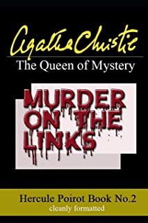 Murder on the Links- Agatha Christie: (French Phrases translated, Clean formatting!)