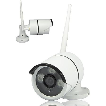 Safe2home 1x Funk Überwachungskamera Full Hd Cam Für Safe2home Kamera Set Secure S1 0 Single Einzeln Funk Kamera 2 4 Ghz Mit Nachtsicht Baumarkt