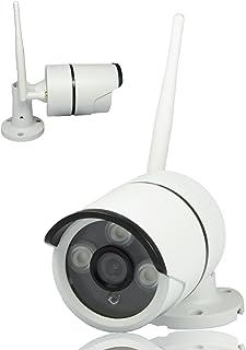 Safe2Home® 1x Funk Überwachungskamera Full HD Cam für Safe2Home Kamera Set Secure S1.0   Single/Einzeln   Funk Kamera 2,4 GhZ mit Nachtsicht