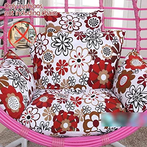 FMOGQ Cojín para silla de sillón colgante, extraíble, lavable, para colgar en la silla de huevo, para colgar nido de pájaro, cojín para colgar en la silla, cojín para respaldo de hamaca, Piccolo Sol