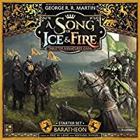 CMON A Song of Ice & Fire Baratheon Starter Set