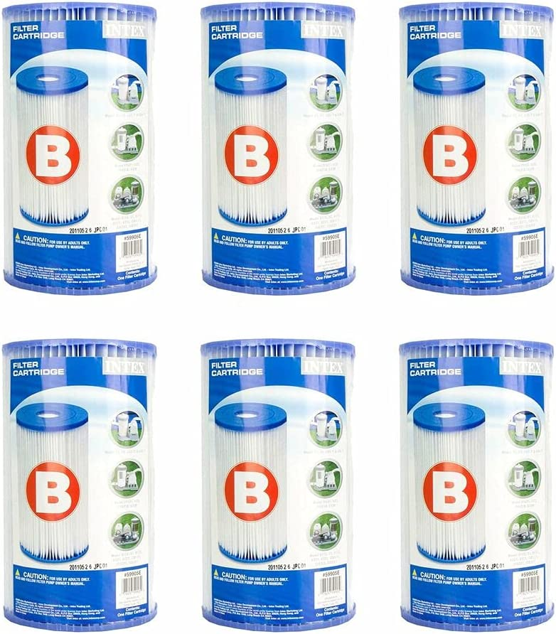 New Free Shipping 6 Pcs Ranking TOP16 Filter Cartridge Replacement B Type - 29005E