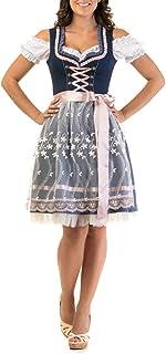 dirndl mini Trachtl.de Dirndl Trachtenkleid Damen Steffi 3:TLG Set Bluse und Schürze