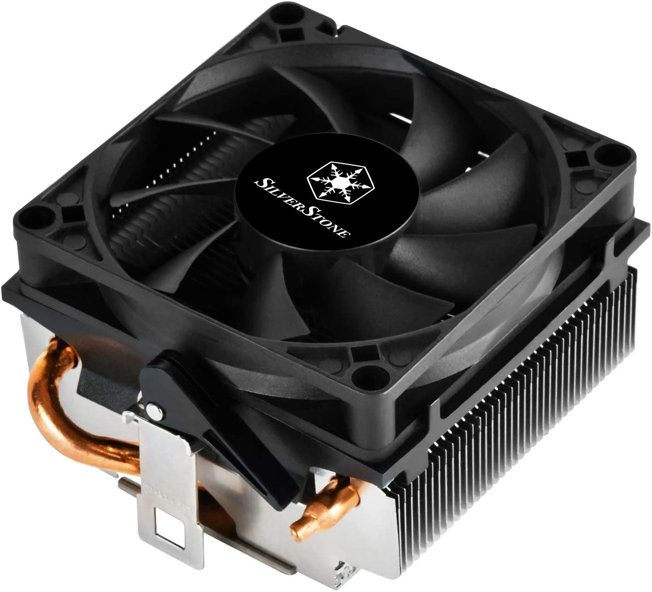 SilverStone Technology Low Profile 95W or More AMD Socket AM2/AM3/AM4/FM1/FM2 CPU Cooler Only 54mm Tall Cooling (RL-KR01)