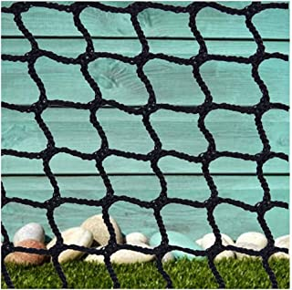 Net Stairs,Ball Stop Net Baby Stair Net Balcony Safety Kids Railing Ball Stopping Netting Nylon Backstop Goal Net Nets Golf Course Barrier Replacement Protection Rope Children Indoor Outdoor Black