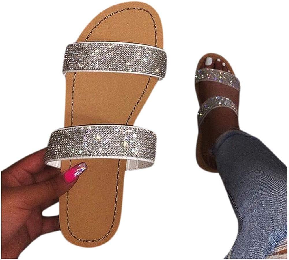Sandals for Women Wide Width,2020 Comfy Platform Sandal Shoes Comfortable Ladies Shoes Summer Beach Travel Shoes Sandals