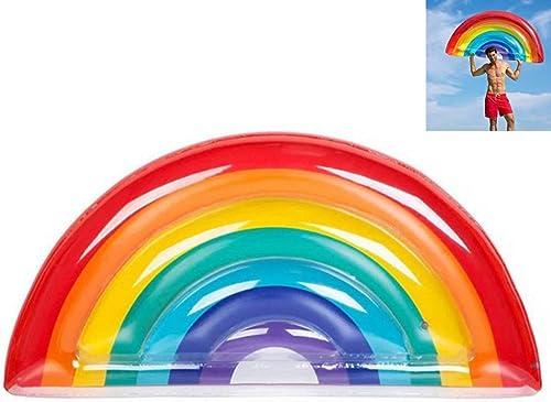 Sunny Aufblasbarer Bett-Erwachsener aufblasbarer halbkreisf iger Regenbogen-Swimmingpool-Sich hin- und herbewegender Bett-Wasser-aufblasbarer Spielzeug-Wasser-aufblasbarer Recliner
