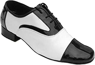 "Mens Ballroom Dance Shoes Standard & Smooth Tango Wedding Salsa Shoe 916102EB -Very Fine 1"" [Bundle of 5]"