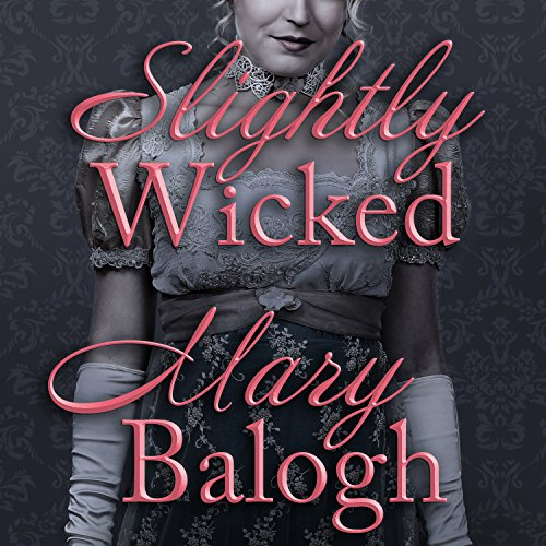 Slightly Wicked audiobook cover art