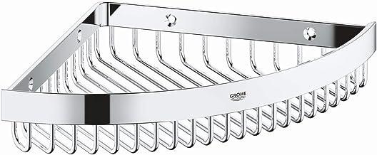 GROHE Selection Cube badkameraccessoires - opbergmand (materiaal: metaal) chroom, 40809000