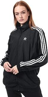 adidas Womens Originals Windbreaker Jacket in Black.