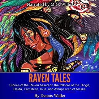 Raven Tales audiobook cover art