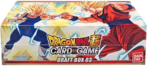 Dragon Ball Super Draft 03 Booster Box Trading Card Game 24 Packs New Leaders!