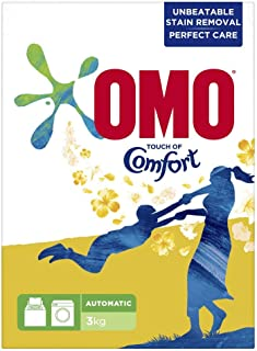 OMO Active Auto Laundry Detergent Powder with Comfort, 3 kg