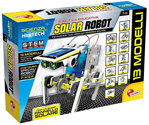 Lisciani Giochi- Scienza Hi Tech Robot 14 Modelle Solarenergie, Mehrfarbig, 73245