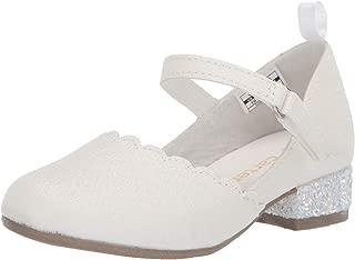 Carter's Kids' Gabie Hook and Loop Dress Shoe with Slight Heel Sneaker