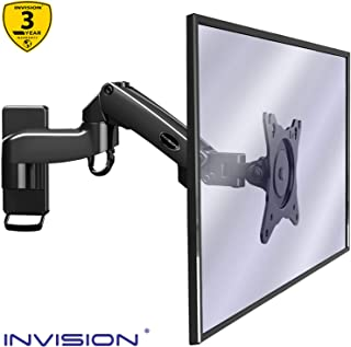 Invision Soporte Monitor Pared de PC y TV, para Pantallas 17-27