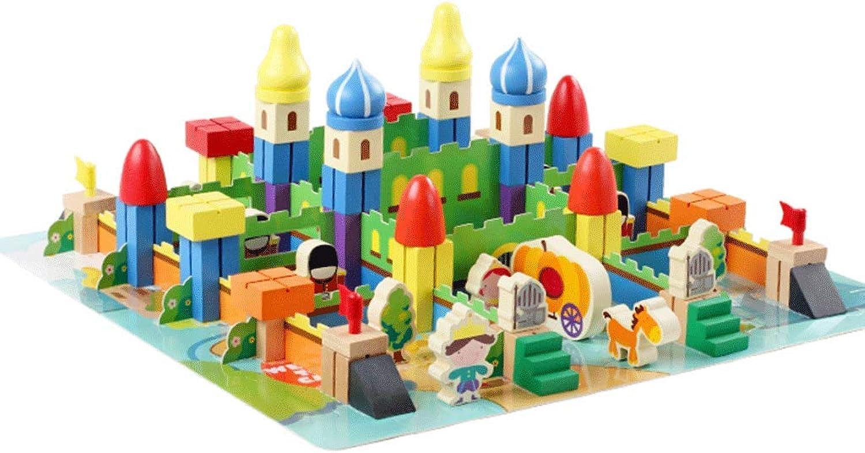 precios ultra bajos ZYN Bloques de construcción construcción construcción temáticos Castle Portable Barreled 22 × 28cm Boy Girl Juguete Educativo  salida