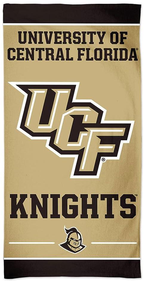 ダウンタウンライフル異常中央フロリダ黄金騎士UCF NCAA 30?x 60インチビーチ寮タオル