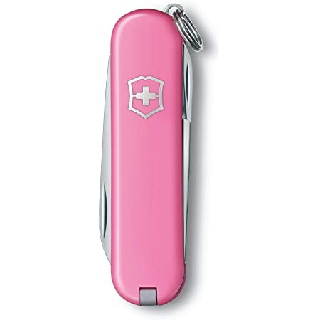 Victorinox Swiss Army Classic SD Pocket Knife Translucent Pink #0.6223.T5R-X5