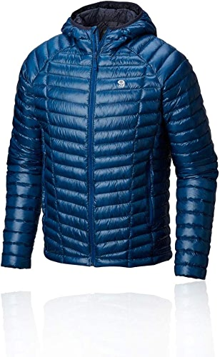 Mountain Hardwear Ghost Whisperer Hooded Down Jacket Down Jacket Medium Nightfall bleu