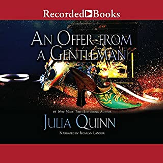 An Offer from a Gentleman audiobook cover art