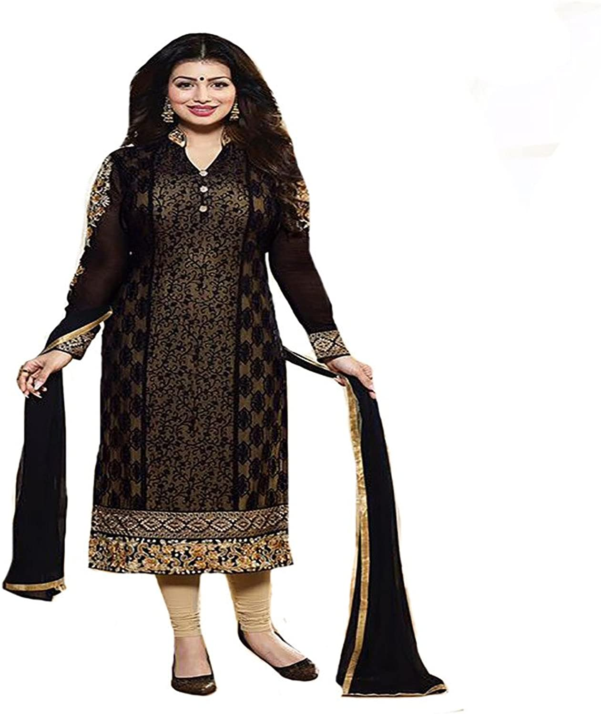 Bollywood Designer Indian Straight Salwar Kameez Suit Dupatta Ceremony Wedding Party Wear