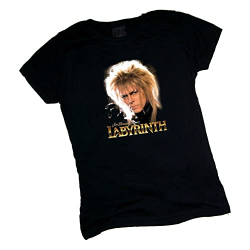 Jim Henson David Bowie Labyrinth Jareth Junior T Shirt