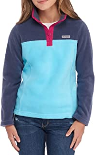 Girl's Three Lakes Half Snap Fleece Pullover (Big Girl's 7-16)