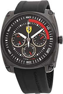 Ferrari Tipo J-46 Quartz Movement Black Dial Men's Watch 830320