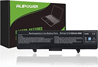 Alipower Laptop Battery Compatible with Dell Inspiron 1526 1525 1545 1546 1750 PP29L PP41L,P/N X284G M911G J415N GW252 J414N - 12 Months Warranty