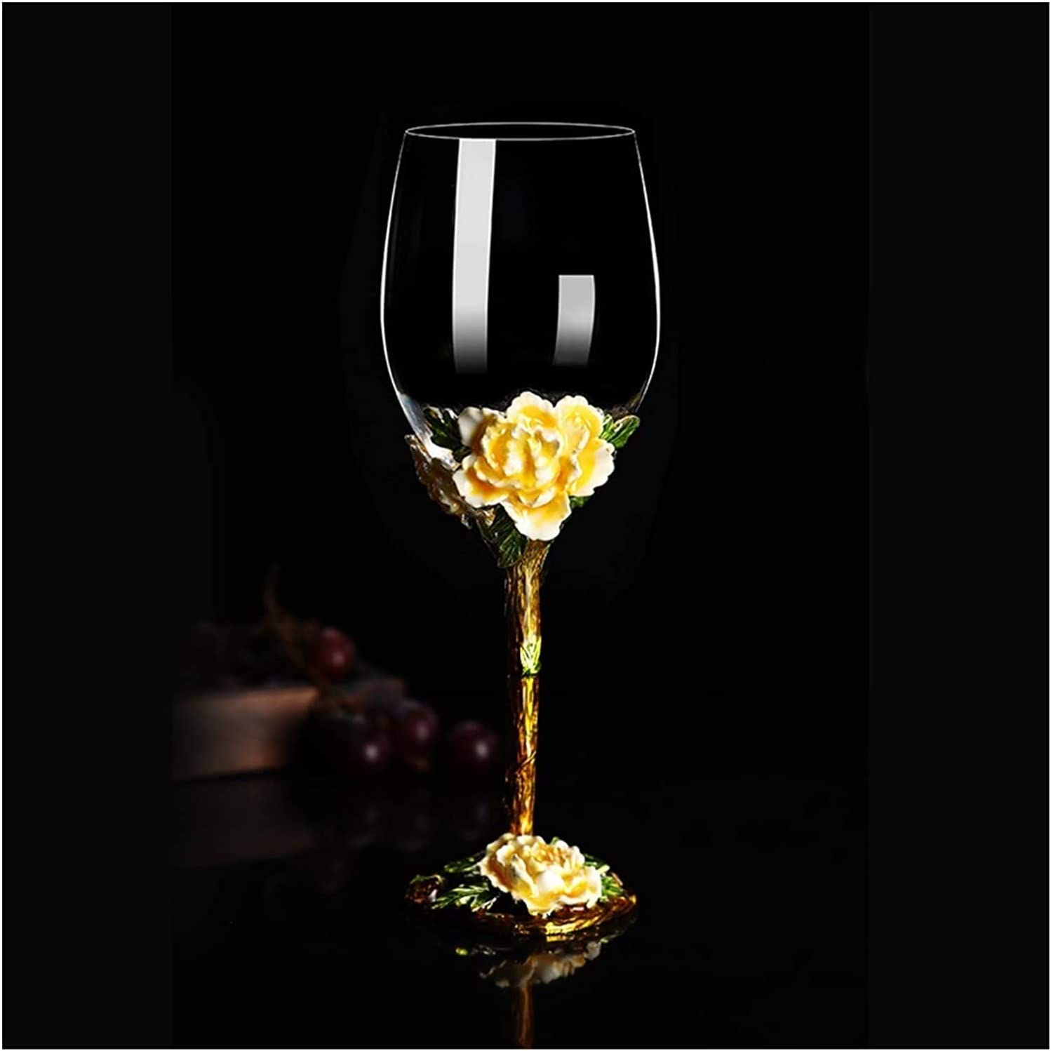 Decanter set European-style Enamel Wine Max 62% OFF Color Glass Quantity limited Cre