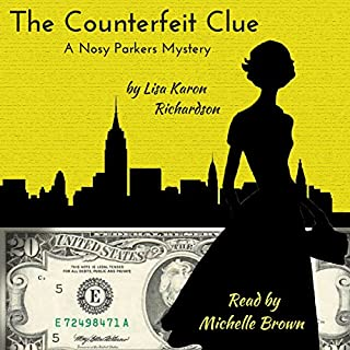 The Counterfeit Clue audiobook cover art