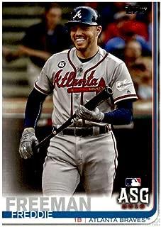 2019 Topps Update #US279 Freddie Freeman Atlanta Braves All-Star Baseball Card