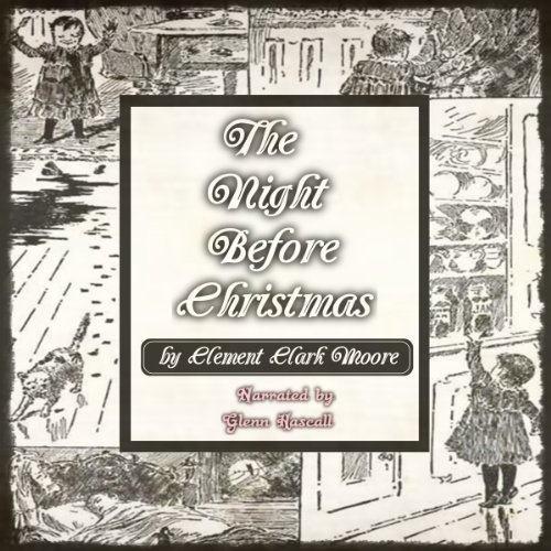 The Night Before Christmas audiobook cover art