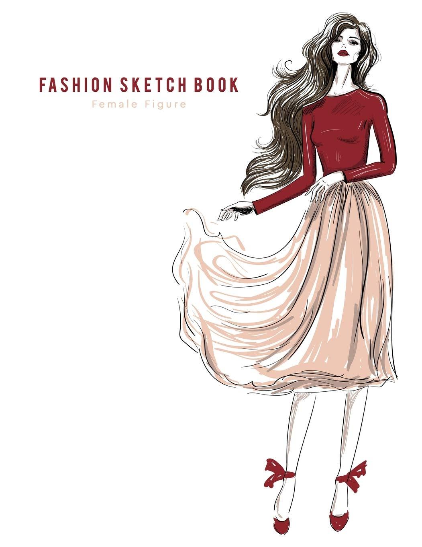 Fashion Sketchbook Female Figure Easil Buy Online In China At Desertcart