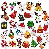 30pcs Mini Christmas Ornaments Tree Decorations, Small Christmas Tree Ornaments...