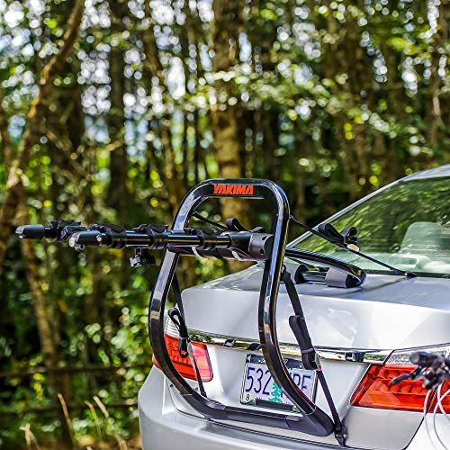 YAKIMA - FullBack Premium Trunk Bike Strap Rack, 3 Bike Capacity