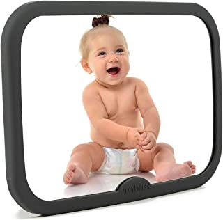 Baby Mirror for Car, Safety Car Seat Mirror for Baby Rear Facing with Anti-Vibration, Shatterproof, Crash Tested and Certi...