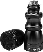 SelfTek Billiard/Snooker/Pool Cue Tip Tool Bowtie 3 in 1 Cue Care Accessory (Scuffer, Shaper, Aerator)