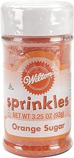 Wilton Orange Sugar Sparkles
