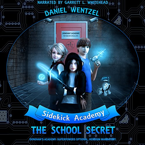 The School Secret audiobook cover art