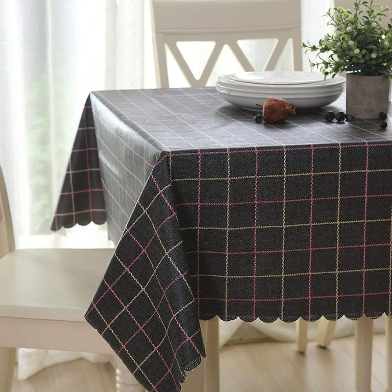 comprar descuentos WENYAO Tablecloth Tablecloth Tablecloth Cloth Art Waterproof Oil-Proof Anti-Hot tabcloth Restaurant rectangRound Tablecloth,C_135220cm  autorización oficial