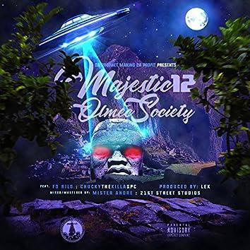 Majestic 12 Olmec Society (feat. Fo Rilo & Chucky the Killa Spc)