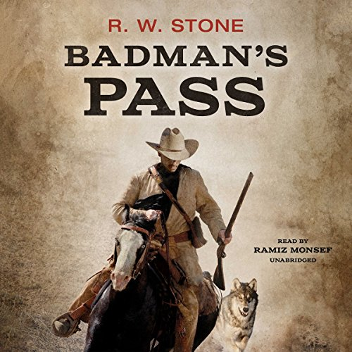 Badman's Pass audiobook cover art